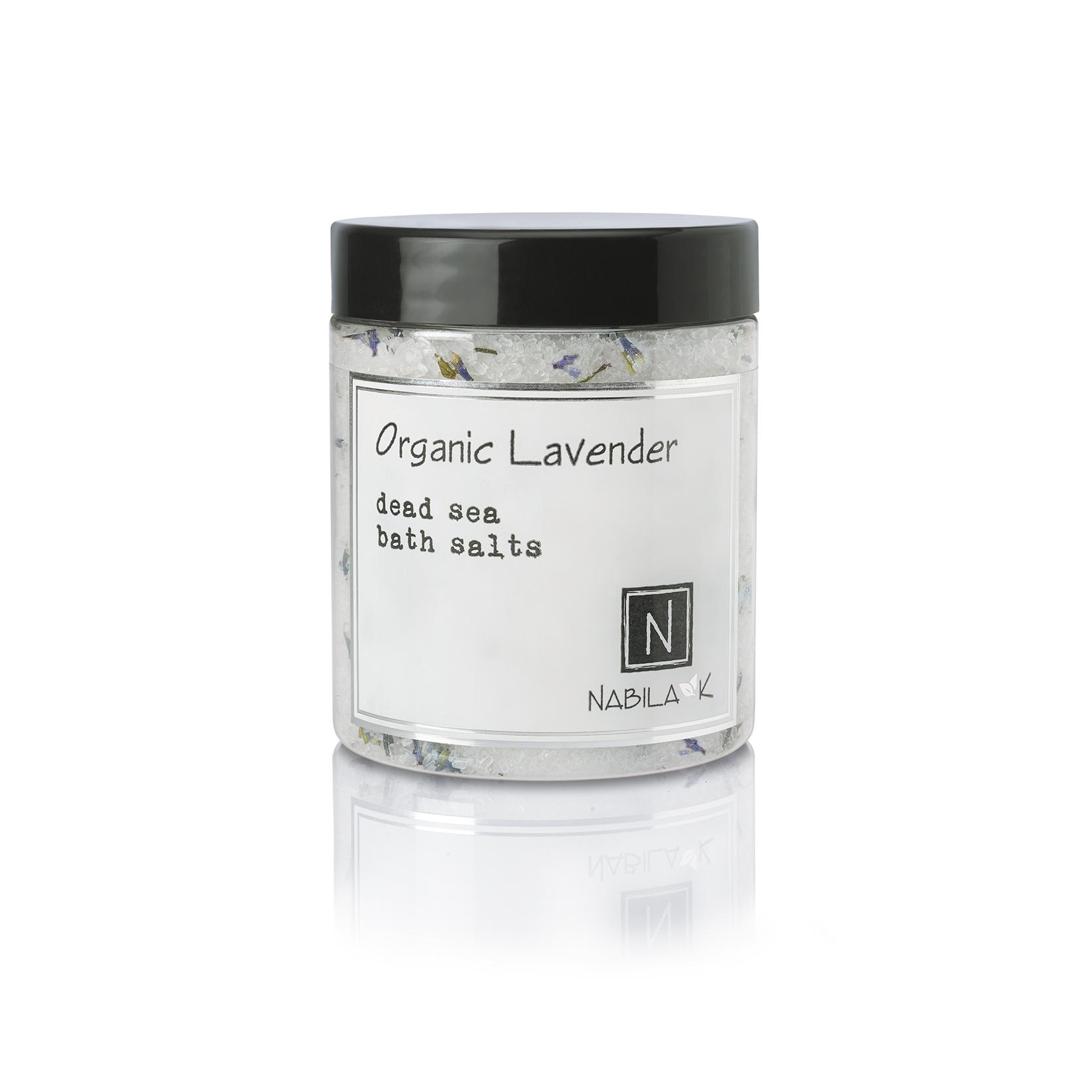 1 Large Sized Version of Nabila K's Organic Lavender Dead Sea Bath Salts