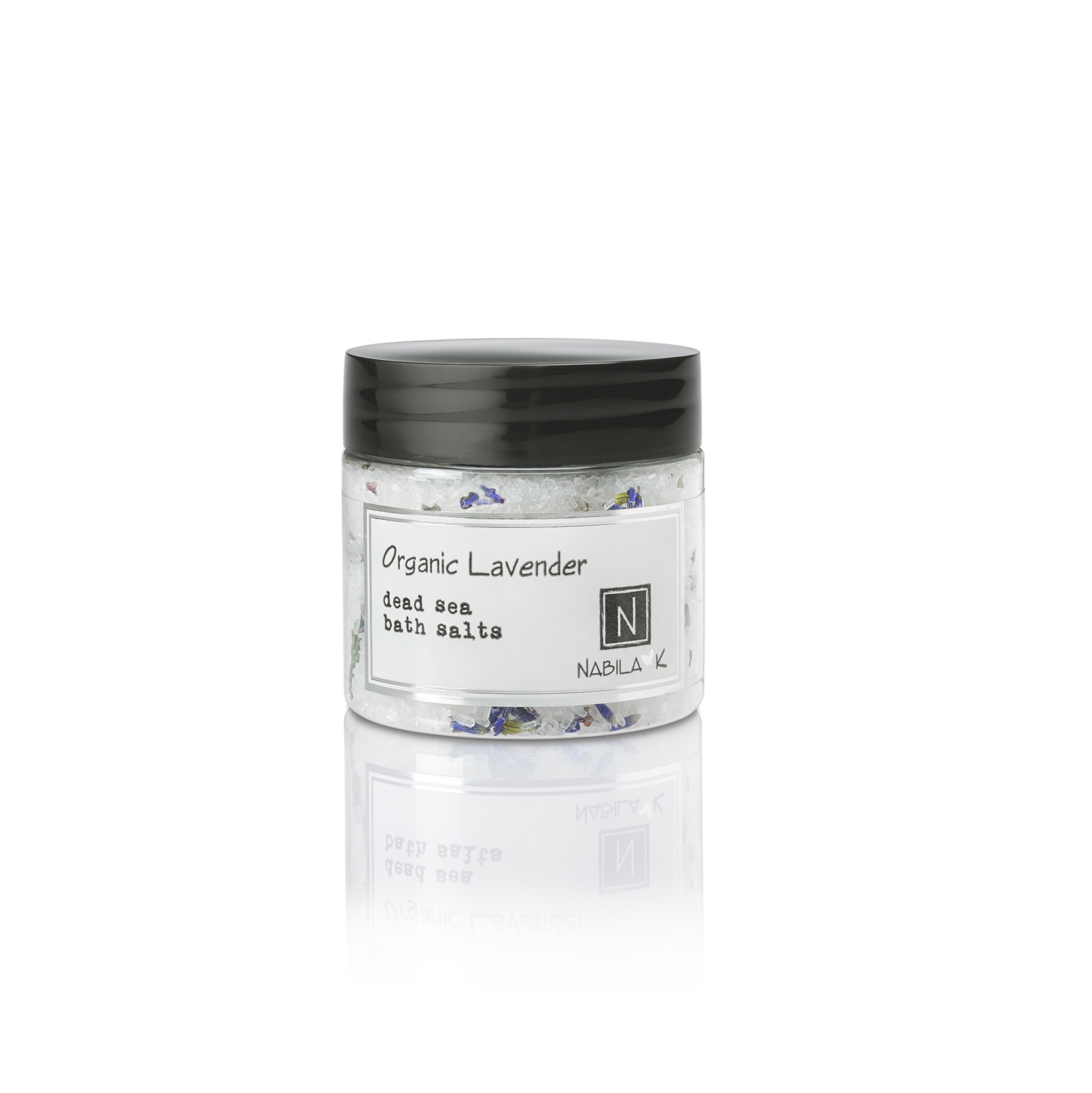 1 Travel Sized Version of Nabila K's Organic Lavender Dead Sea Bath Salts