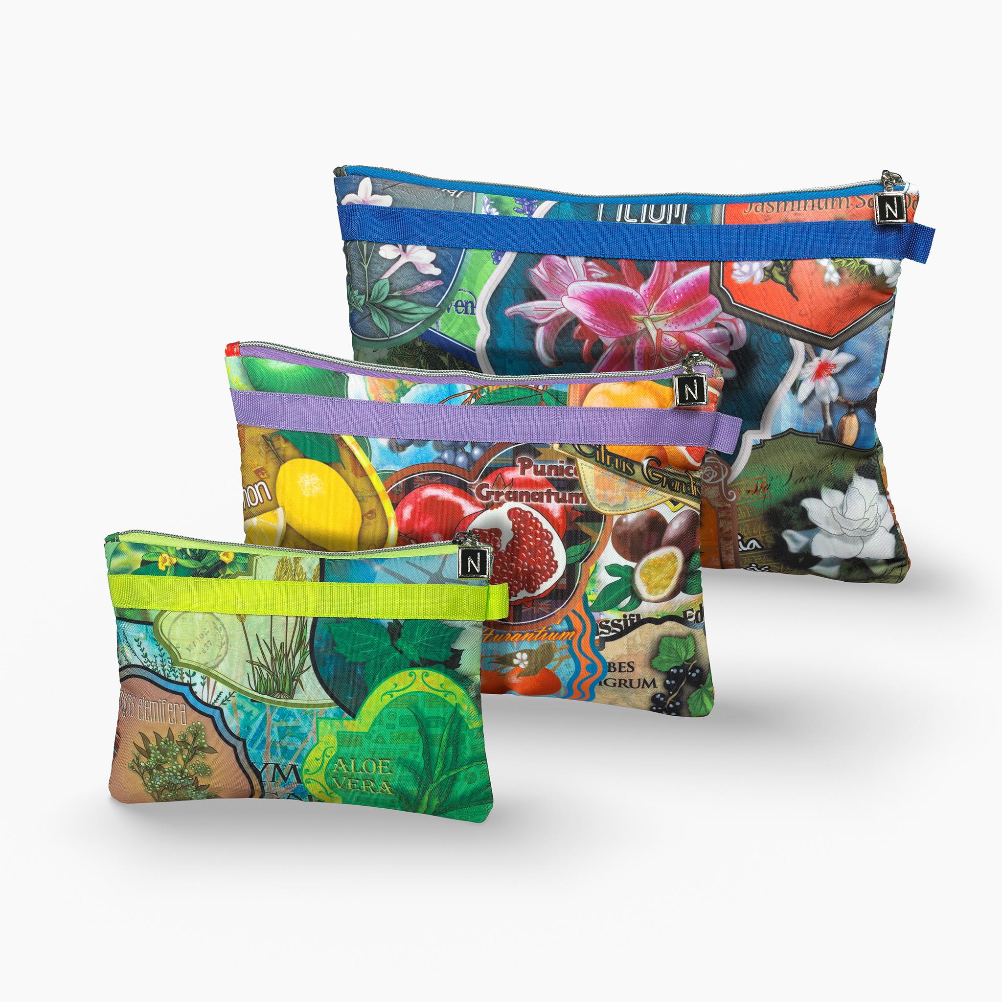 3 Designs of Nabila K's Travel Bag in 3 Different Designs