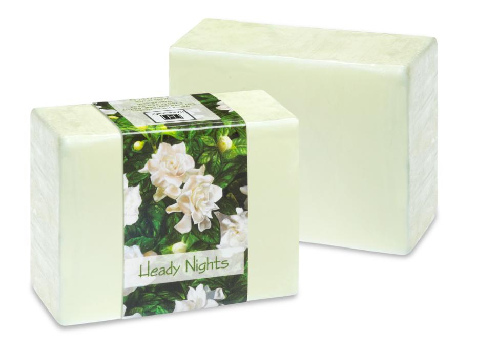 2 Bars of Nabila K's Heady Nights Full Bloom Glycerin Soap