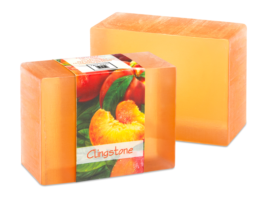 There is nothing quite like the delectable scent of peaches. Nabilak Clingstone glycerin soap is infused with the very essence of fresh peaches. One smell and you feel like you are walking through a peach orchard.