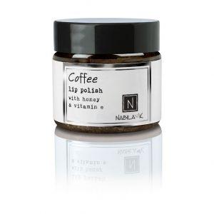 1 oz of Nabila K's Coffee Lip Polish with Honey and Vitamin E