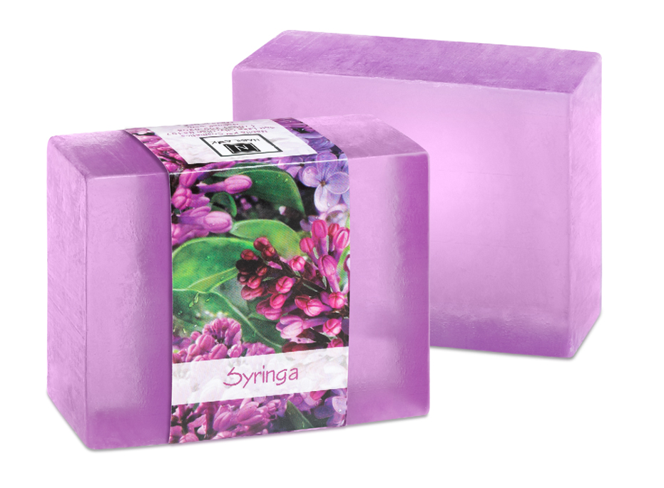 Gentle lilac fragrances combine to produce a wonderfully, powder scented glycerin soap. VERY unique scent for a soap!
