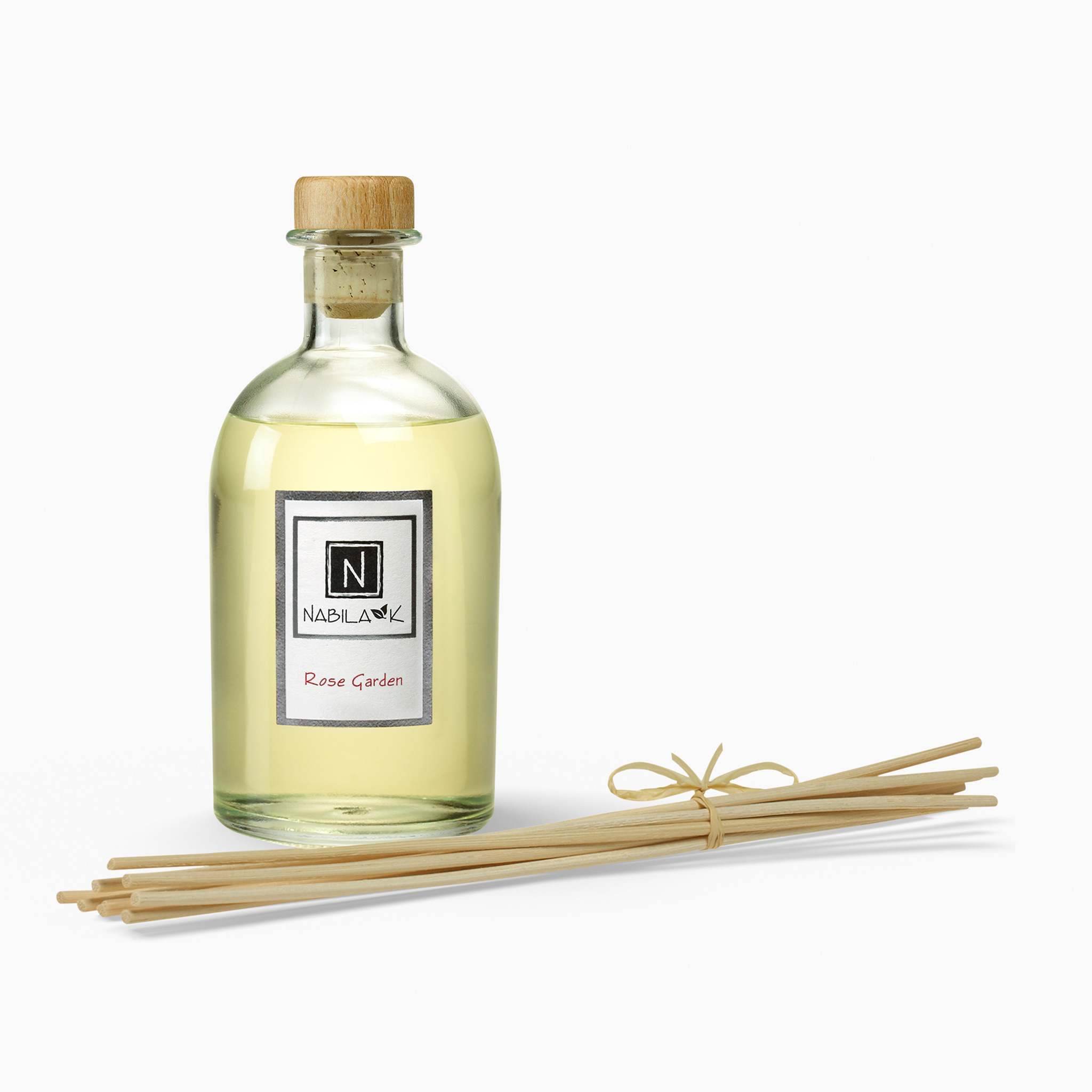 1 Bottle of Nabila K's Rose Garden Diffuser with Reeds