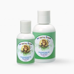 1 Large Size and Travel Size Me and My Friends Nourishing Body Oil Kids and Babies Lavendar and Rose