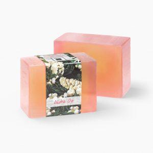 2 Bars of Nabila K's Aloha Oe Full Bloom Glycerin Soap