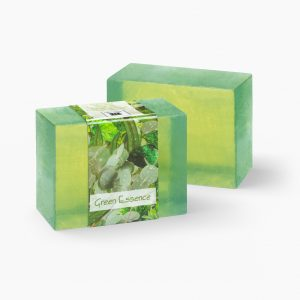 2 Bars of Nabila K's Green Essence Full Bloom Glycerin Soap