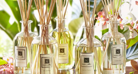 Collection of Nabila K's Diffusers with Reeds