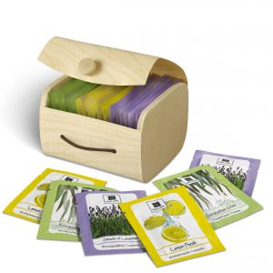 Assorted Box of 20 Lavender, Lemon, and Eucalyptus Biodegradable Towelettes