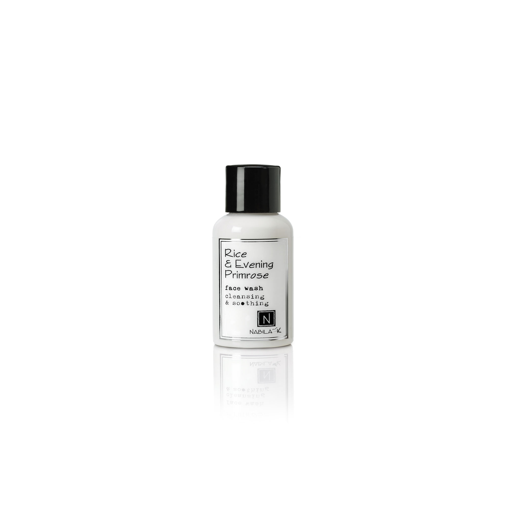 2.4oz of rice and evening primrose face wash cleansing and soothing