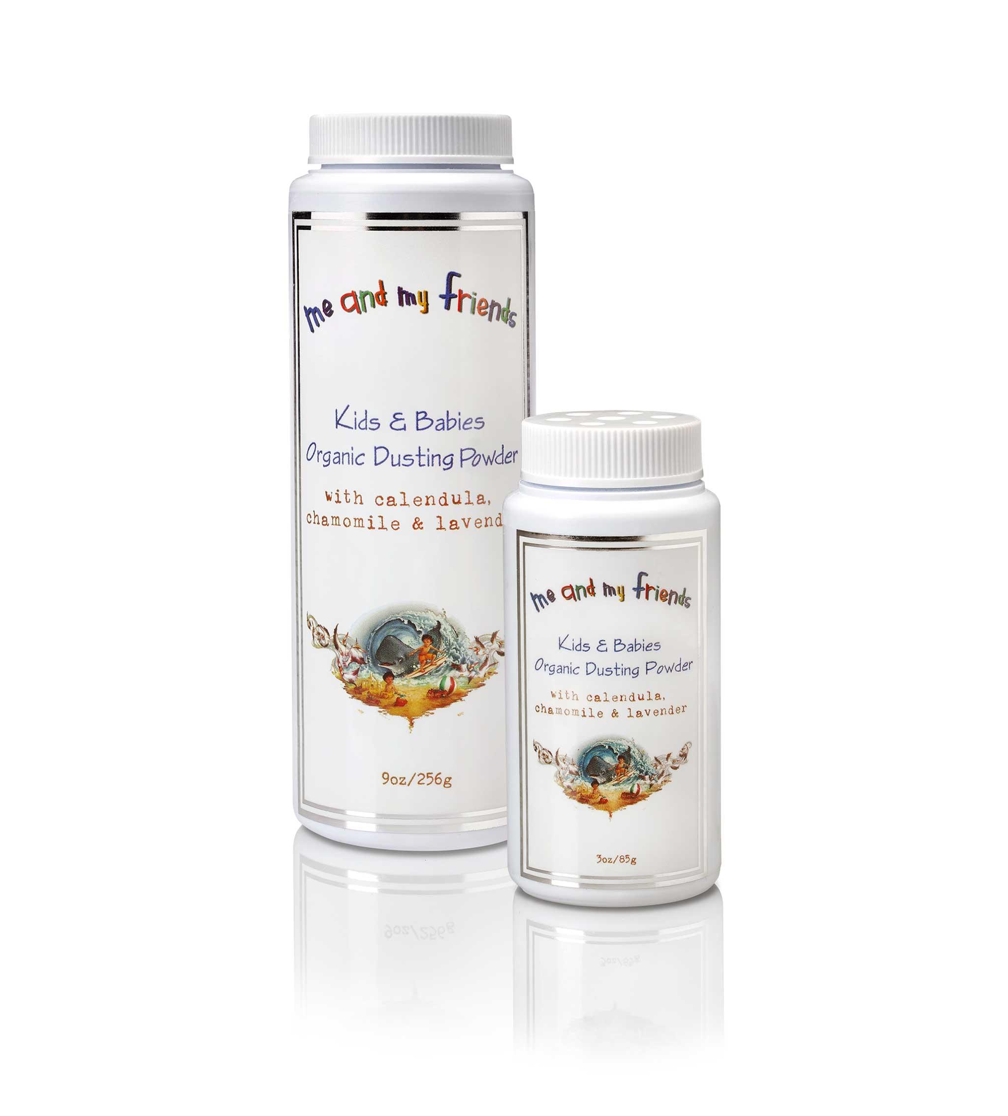 100% all natural organic dusting powder