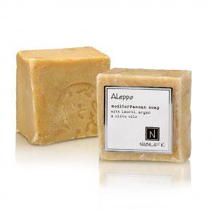 Nabila K's Aleppo Soap Mediterranean Soap with Laurel, Argan and Olive Oil