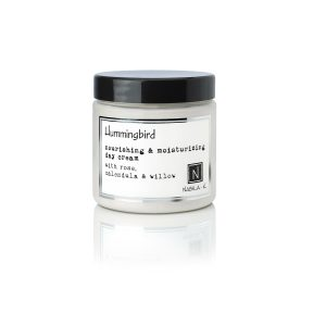 1 5oz of Nabila K's Jar of Hummingbird Nourishing and Moisturizing Day Cream with Rose, calendula and willow