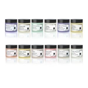 10 Different Varieties of Nabila K's Travel Sized Body Butter