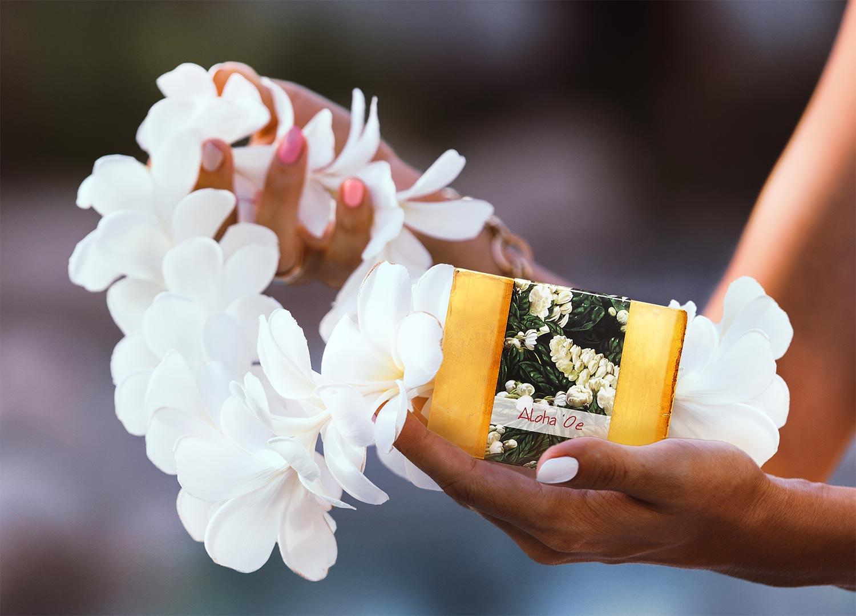 Aloha Oe Soap Ad.