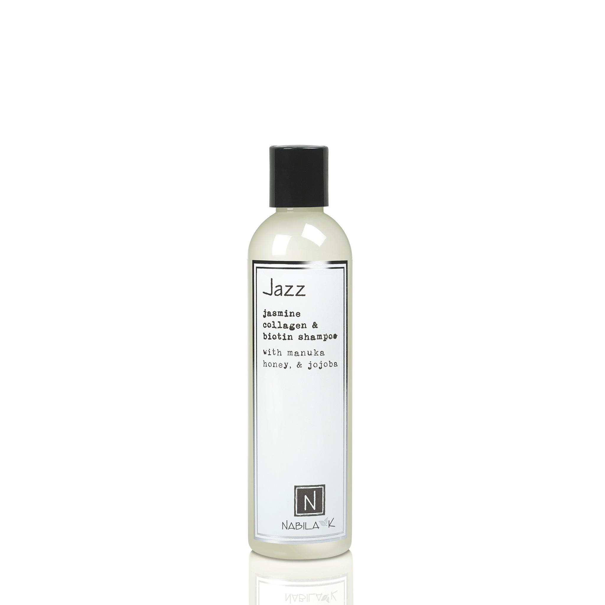 1 Large Sized Bottle of Jasmine Collagen and Biotin Shampoo with Maunka Honey and Jojoba
