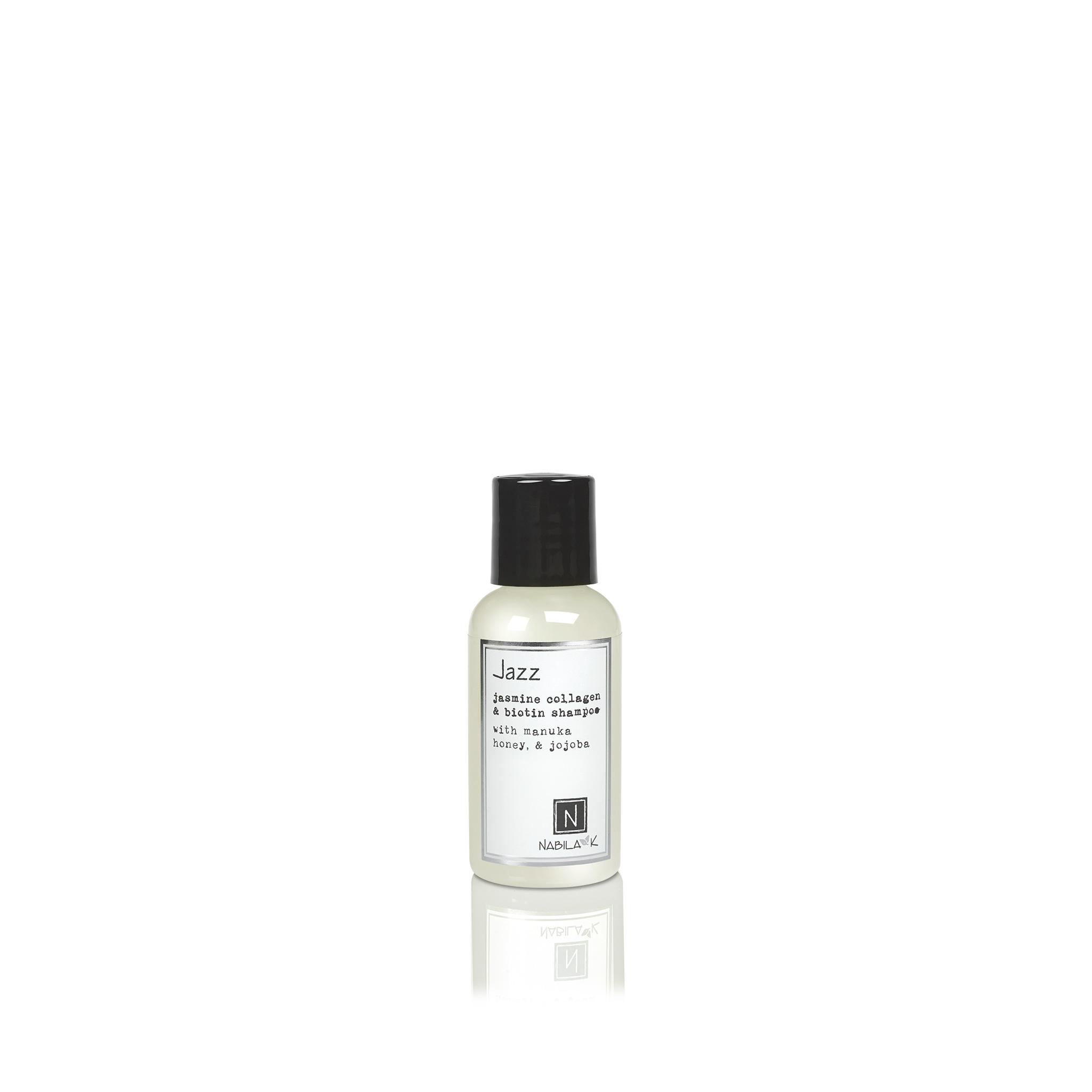 1 Travel Sized Bottle of Jasmine Collagen and Biotin Shampoo with Maunka Honey and Jojoba