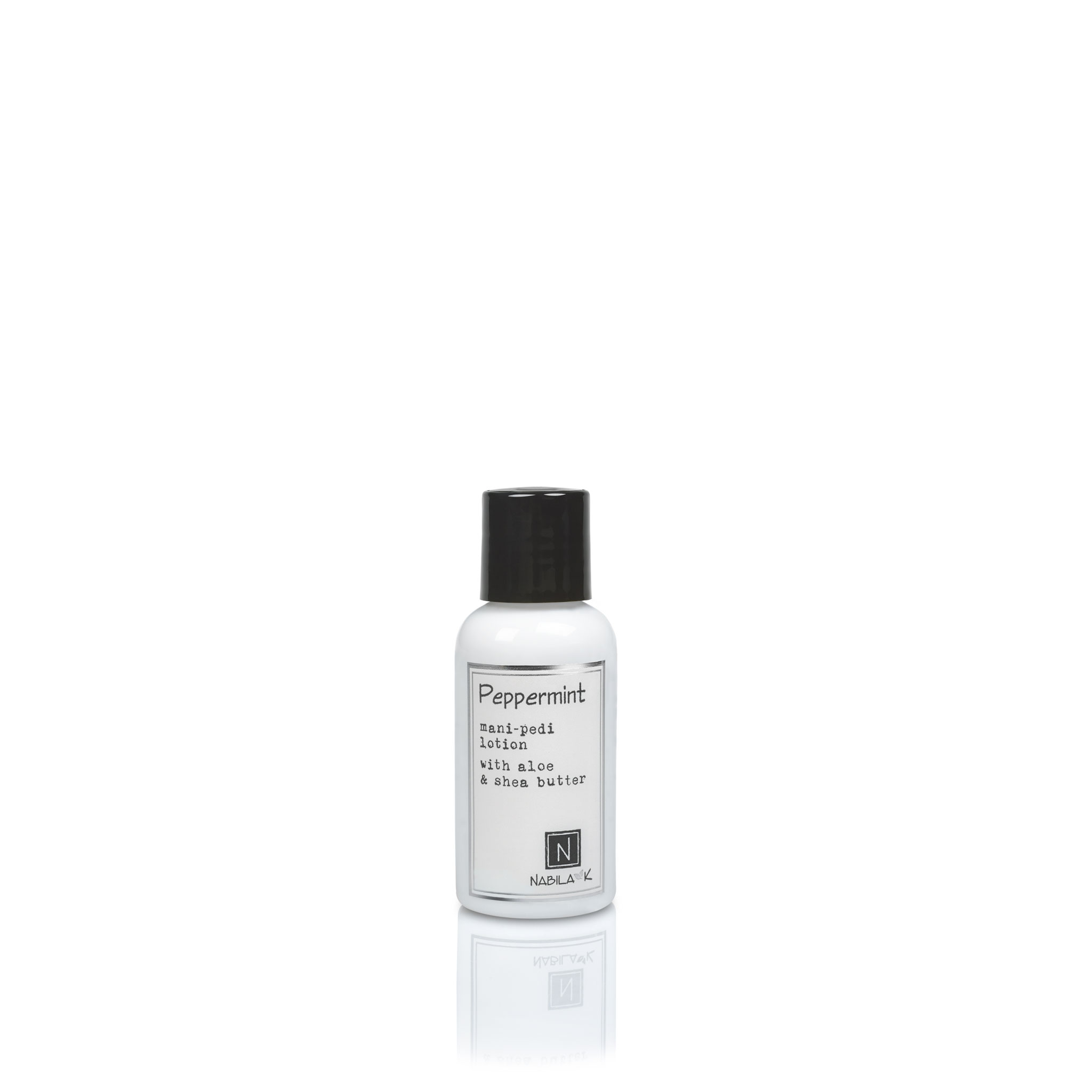 1 Travel Size Version of Peppermint Mani-Pedi Lotion with Aloe and Shea Butter