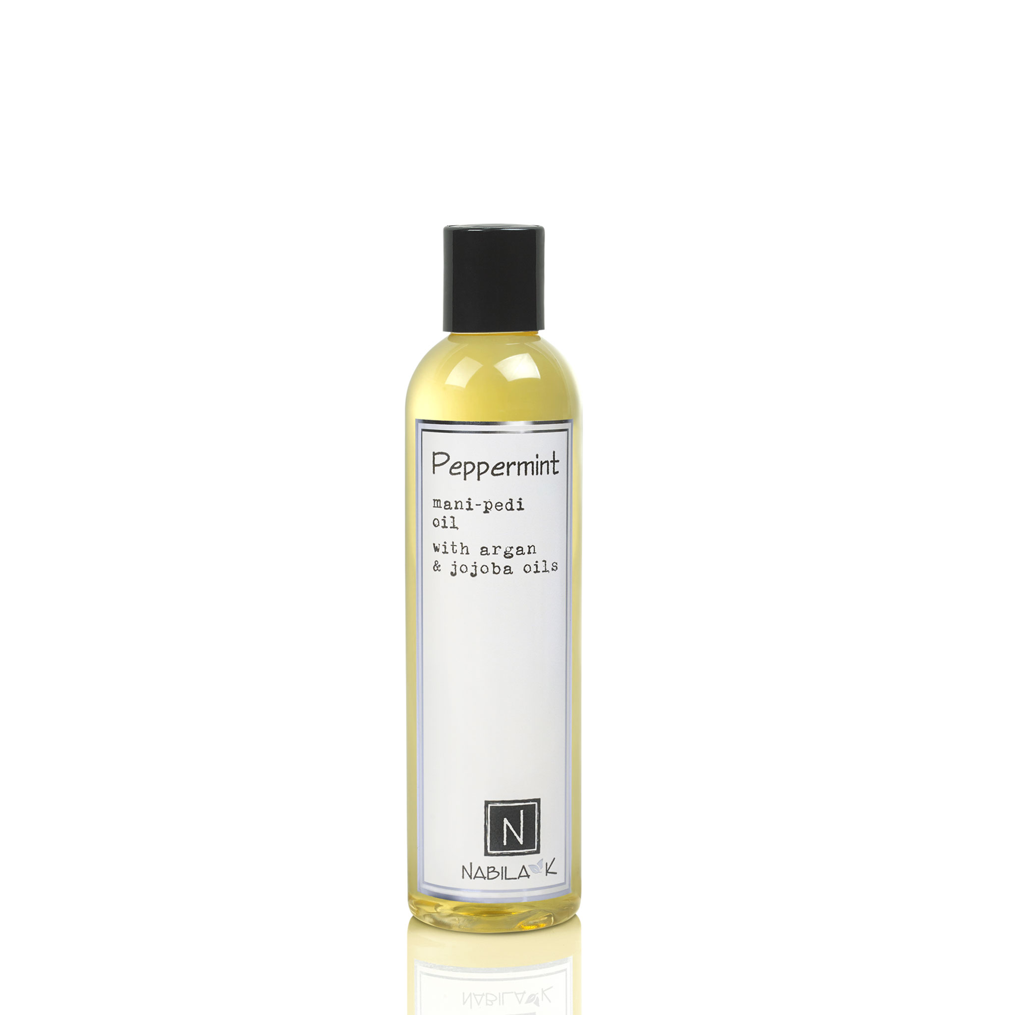 1 Large Size Version of Peppermint Mani-Pedi Oil with Argan and Jojoba Oils