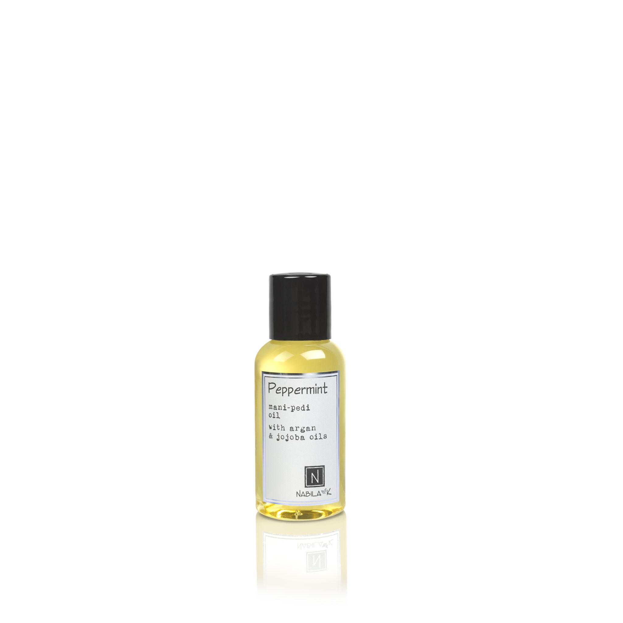 1 Travel Size Version of Peppermint Mani-Pedi Oil with Argan and Jojoba Oils